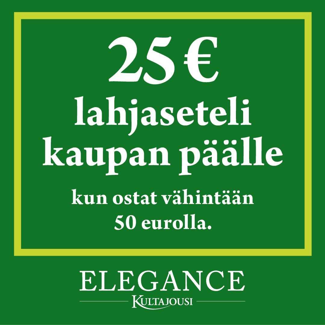 25 € lahjaseteli kaupan päälle! - Kultajousi
