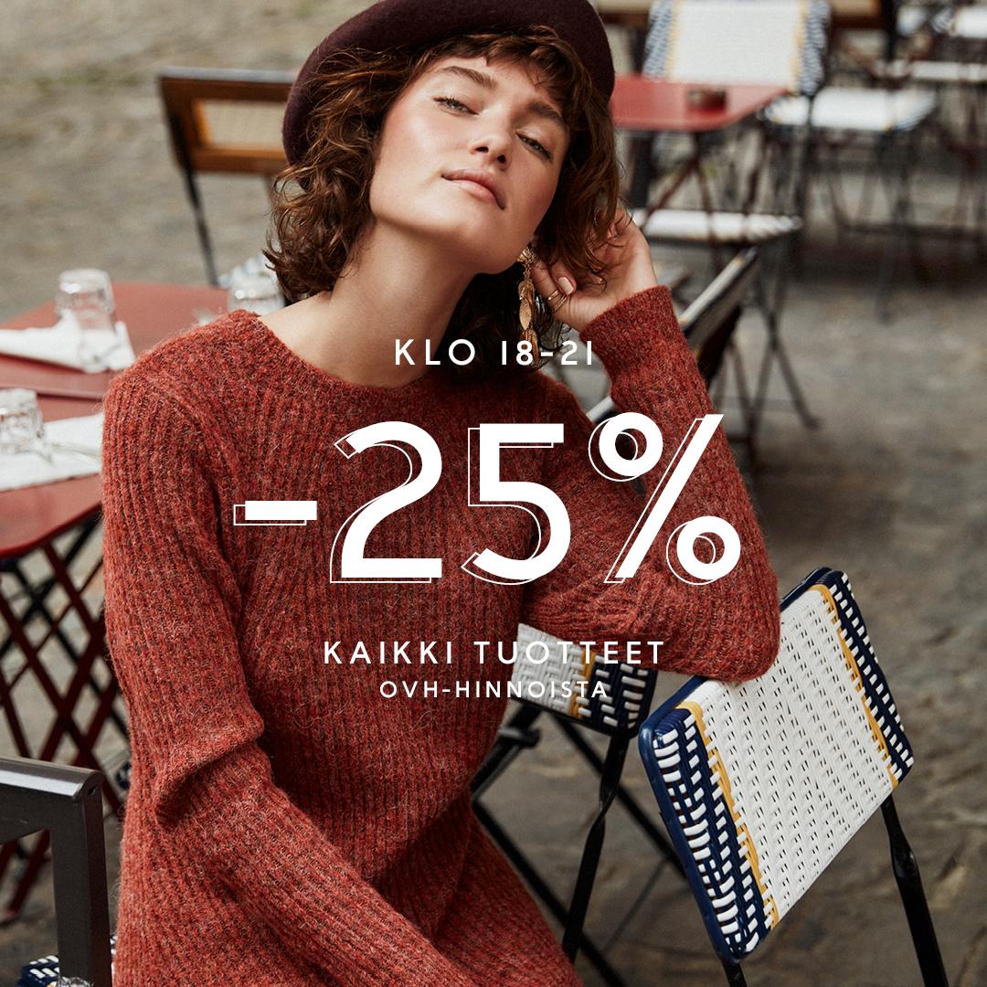Kaikki -25% klo 18-21! - Vila Clothes