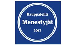 Menestyjät 2017