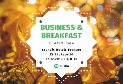Business & Breakfast -digiaamupala
