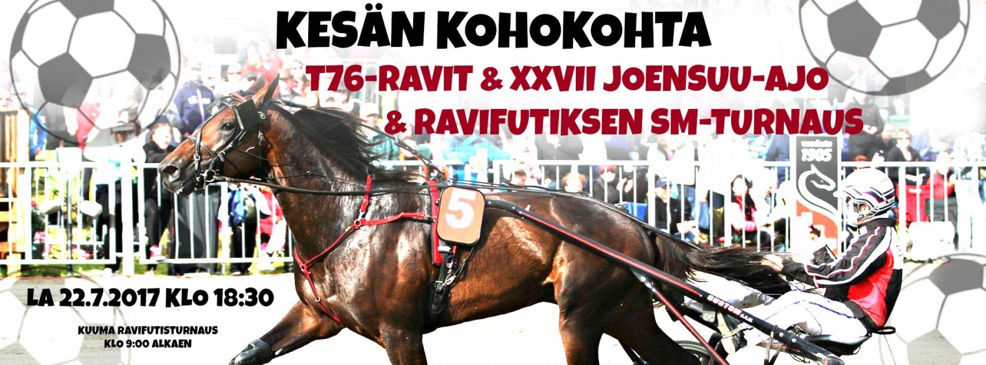 Toto76-ravit & Joensuu-ajo & ravifutiksen SM