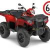 Sportsman 570 EFI Traktorimönkijä 40 tai 60 km/h Summer Pack kampanja.-thumbnail