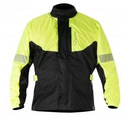 Hurricane Rain Jacket Yellow Fluo black-thumbnail