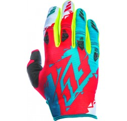 KINETIC GLOVE DARK TEAL/RED-thumbnail