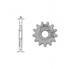 Eturatas 11z Minarelli Am6, Uudistettu-thumbnail