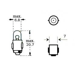 Lamppu 6v 1,2w Ba 7s-thumbnail