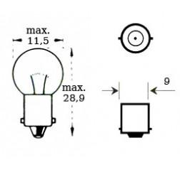 Lamppu 6v 5w Ba 9s-thumbnail