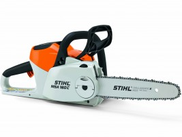 Battery operated chainsaws