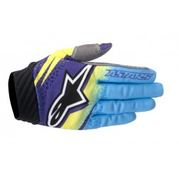 TECHSTAR VENOM GLOVE LIME CYAN PURPLE-thumbnail