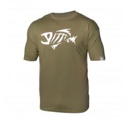 Fishbone T-paita M vihreä-thumbnail
