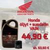 Honda 10w-40 4L öljy + suodatin paketti-thumbnail