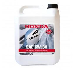 5W-30 4T puolisynteettinen moottoriöljy 4 litraa -thumbnail