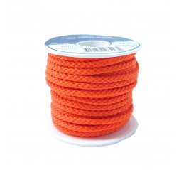 Polyesteri silkkinaru pikkurulla Oranssi-thumbnail