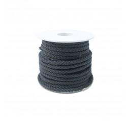 Polyesteri silkkinaru pikkurulla musta-thumbnail