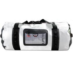 Cylinder duffel 70 white/black-thumbnail