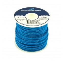 Polyesteri silkkinaru pikkurulla sininen-thumbnail