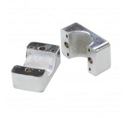 Kromipinnattu alumiini stauffi 25mm kaiteeseen-thumbnail