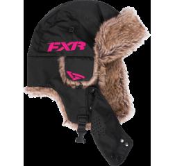 Trapper Hat Musta/Fuchsia-thumbnail