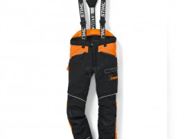 Waist trousers and open overalls