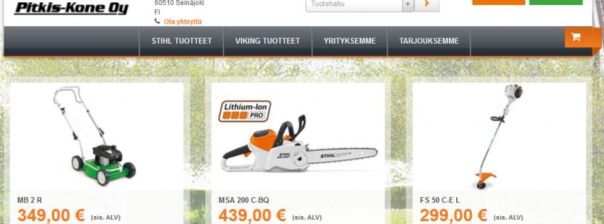 Stihl Online Partner -verkkokauppa-thumbnail
