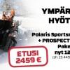 Polaris Sportsman 570 +Prospector telasarja