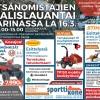 Metsänomistajan Maalislauantai 16.3.2019 Kaarinan Krossissa-thumbnail