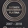 Suomen vahvimmat platina -logo