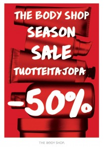 Season sale - The Body Shop